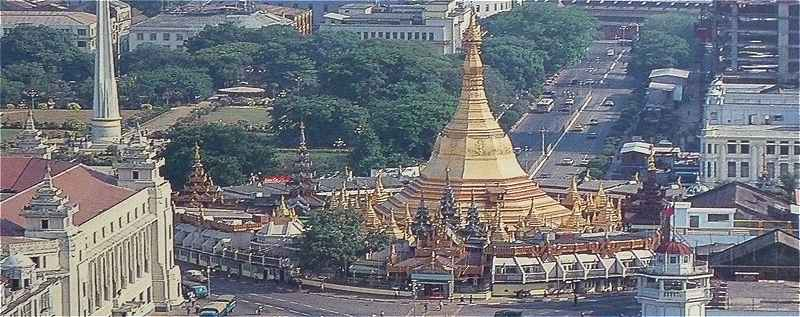 Birmanie: l'ancienne capitale Rangoon (Yangon)