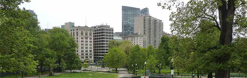 Boston Common, le parc du centre de Boston