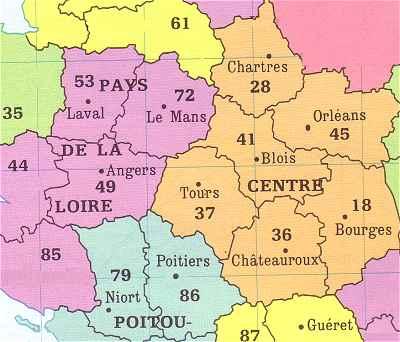 Francebalade le val de loire for Region loiret