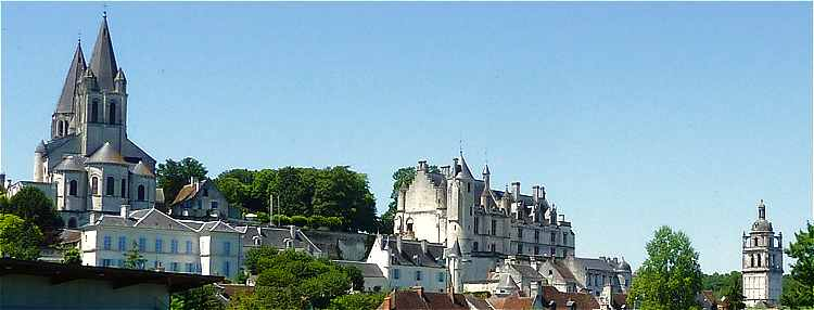 Loches: la Collégiale Saint Ours, le Chateau Royal et la Tour Saint Antoine