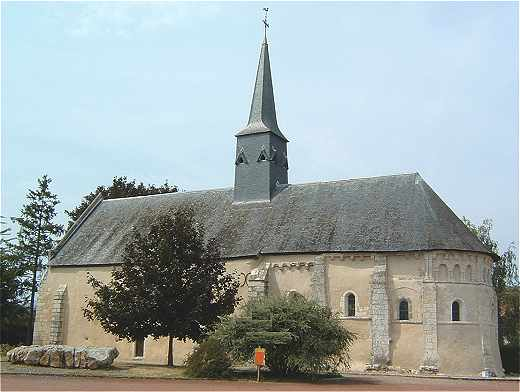 Eglise de Nourray en Vendomois
