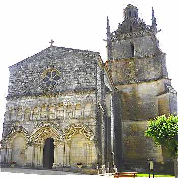 Eglise Saint Fortunat de Saint Fort sur Gironde