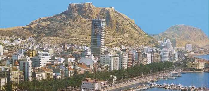 Panorama sur Alicante