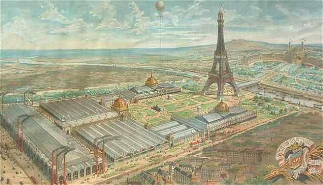 Paris la tour eiffel et le 7 arrondissement for Expo paris mars