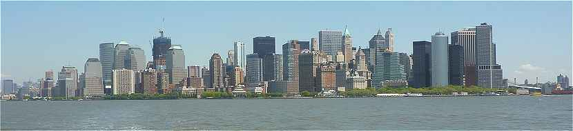 New-York: Sud de Manhattan, le Quartier de Wall Street
