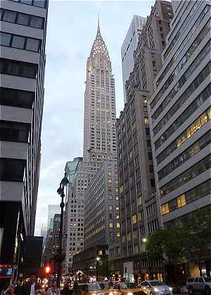 New-York: le Chrysler Building
