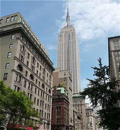 New-York: l'Empire State Building