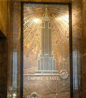 New-York: Hall de l'Empire State Building