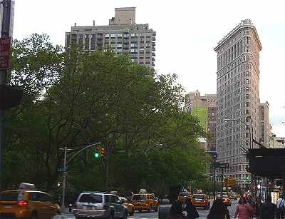 New-York: le Flatiron Building