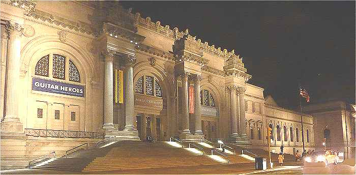 New-York: le Metropolitan Museum of Art