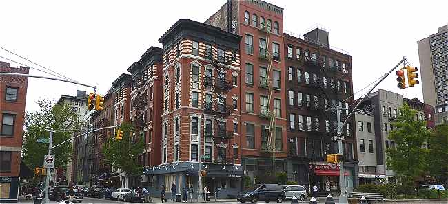 New-York: Quartier de Soho le long de Houston Street