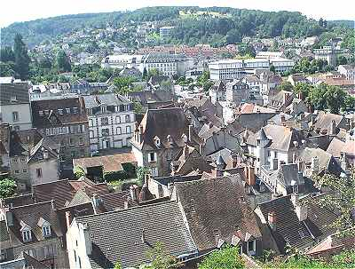 Panorama sur Aubusson